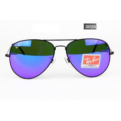 Купить Ray Ban 3026 mirror blue black в интернет магазине Муравей RU