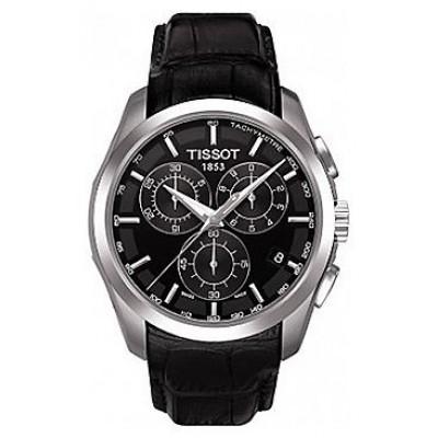 Купить TISSOT T035.617.16.051.00 black в интернет магазине Муравей RU