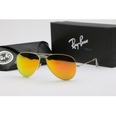 Ray Ban 3025 mirror red gold