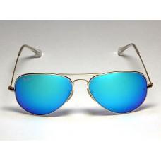 Ray Ban 3025 mirror blue silver