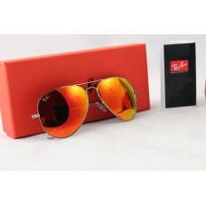 Ray Ban 3025 mirror red silver