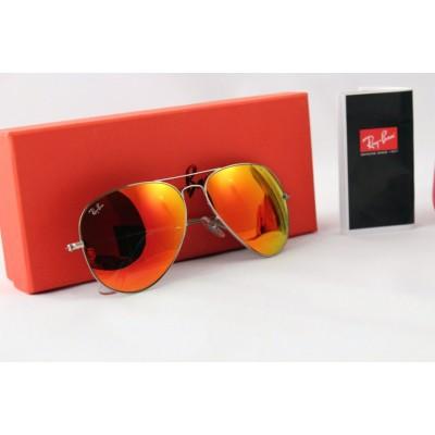 Купить Ray Ban 3025 mirror red silver в интернет магазине Муравей RU