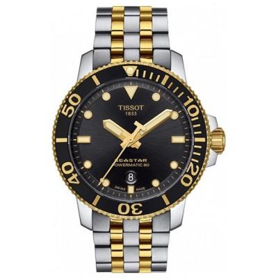 Купить часы Tissot Seastar T120.407.22.051.00 Powermatic 80 в интернет магазине Муравей RU