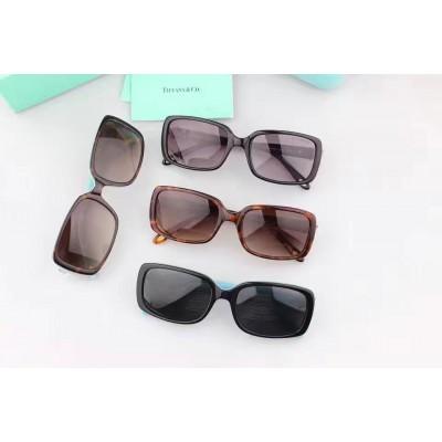 Купить Tiffany -- Co Tiffany Victoria Italy Rectangular Sunglasses TF4047B в интернет магазине Муравей RU
